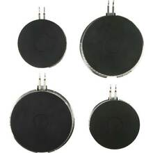 SmartBurner   2 x 2 Cooking Fire Solution for Electric Coil Stoves Black    M4