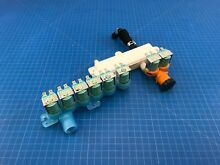 Genuine Samsung Washer Water Valve Assembly DC33 01002A DC62 00311Q Set of 2
