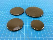 Genuine Frigidaire Range Oven Burner Cap 316206602 316213603 316213503 Set of 4