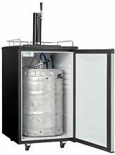 Danby 5 4 Cu Ft Single Tap Keg Cooler DKC054A1BSL