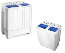 Portable Mini Compact Washing Machine Washer Spin Dryer Twin Tub Travel Laundry