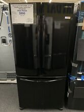 Samsung  RF18HFENBBC33 Inch Counter Depth French Door Refrigerator