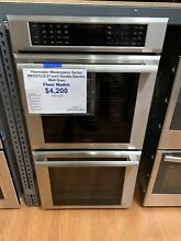 Thermador MED272JS 27   Masterpiece Double Electric Wall Oven in Stainless Steel