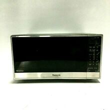 Panasonic 1 6 Cu  Ft  Stainless Steel Family Size Microwave Oven  NN SN755S
