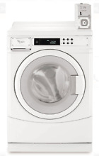 Whirlpool CHW8990CW 27  Commercial Washer White Front Load New