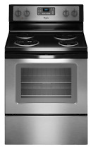 Whirlpool WFC310S0ES Self Cleaning Stainless Steel Electric Range New