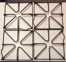 Set of 4 Cast Iron Gas Burner Grates 30 Day Warranty Free Shipping
