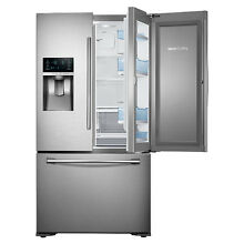 Samsung 22 5CF French Door Refrigerator Counter Depth Stainless Steel