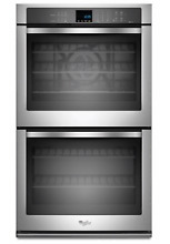 Whirlpool WOD93EC0AS Stainless Steel 30  Double Convection Wall Oven New