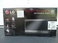 LG LMC2075BD NeoChef 2 0 Cu  Ft  Countertop Microwave in Black Stainless Steel