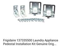 Frigidaire 137335500 Laundry Appliance Pedestal Installation Kit Genuine