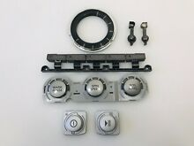 LG Washer Control Panel Push Buttons Set  AGL32761619  Gray  Black