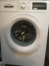 Bosch WAT28400UC 300 Series 24 Inch Front Load Washer   White  2 2 cu  ft