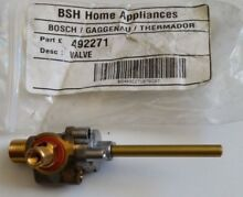 BOSCH Thermador Range Stove Oven Surface Burner Valve 00492271