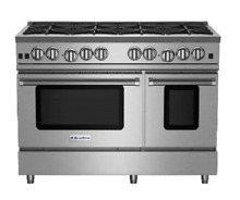 Blue Star RNB488BV2LP 48  Stainless Steel LP Range