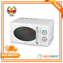 Tower 20 L Stainless Steel Manual Solo Microwave 800 W In White   T24017