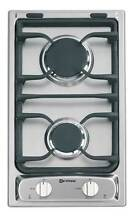 Verona VEGCT212FSS 12  Gas Cooktop Deluxe 2 Sealed Burners Stainless Steel