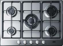 Summit GC527SS 27   Gas Cooktop Built In 5 Sealed Burners Stainless Steel