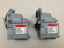 2 x Genuine LG Washer Dryer Combo Water Drain Pump WD 1255RD WD 1256RD