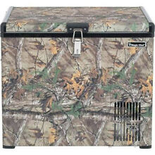 Magic Chef MCL40PFRT Portable Chest Freezer or Refrigerator 12V DC AC Camouflage
