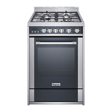 Magic Chef MCSRG24S 24   2 7 cu  ft  Gas Range Convection Stainless Steel