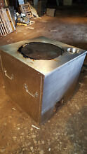 Stainless Steel Tandoori Clay Indian Oven  Natural Gas  one burner  32  x 32