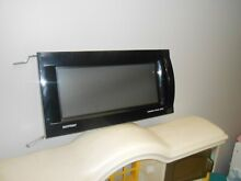 Hotpoint Microwave Oven Complete Door WB55X10161 Black
