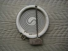 GAGGENAU GLASS COOKTOP BURNER NEW OLD STOCK