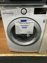 LG  WM3500CW27 Inch Front Load Washer