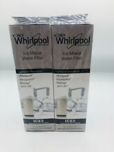 NEW Whirlpool Ice Maker Water Filter F2WC9I1 ICE2   2Pack Sealed See Description