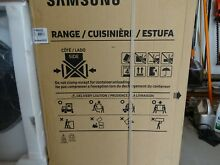 Samsung 30  5 8 cu  ft  Single Oven Gas Slide In Range NX58M9420SS Stainless NEW