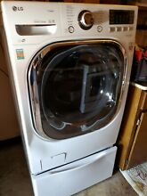 LG  WHITE PEDESTAL WDP5W 29INCH WASHING MACHINE NOT INCLUDED