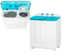 12 lbs Portable Washer Dryer Combo Clothes Laundry Washing Machine Large Compact