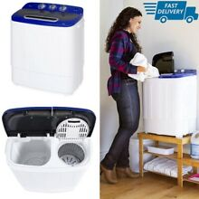 Small Washing Machine With Dryer Portable Mini Laundry Washer 13 Lbs Capacity
