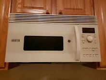 GE  over The Range Microwave Oven in White