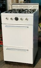 Vintage Sears Kenmore Tappan 20 Inch Apartment Sized Gas Stove Model 119 7067000