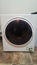 Costway 23598 CYPE Compact Stainless Steel Electric Dryer   White  1 5 Cu  Ft