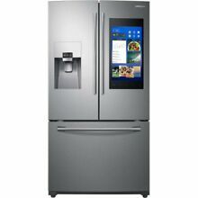 Samsung RF265BEAESR 24 cu  ft  Capacity 3  Door French Door Refrigerator