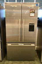 Fisher   Paykel   RF201ADUSX5 36 Inch Stainless Steel French Door Refrigerator