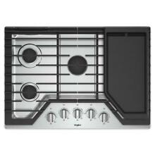Whirlpool WCG97US0DS 30 Inch 5 Burner Gas Cooktop
