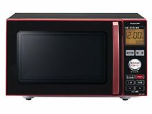 Koizumi Microwave Oven Single Function 18L Red Krd 1850 R from Japan F S