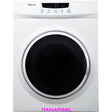 New Magic Chef Compact Electric Dryer 3 5 Cu Ft Laundry 110 Volt Appliance White