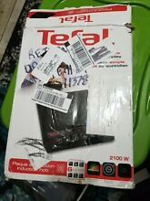Tefal 2100W Electric Portable Ceramic Induction Single Cooktop Hotplate Stove