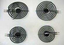 Range Burner Surface Element 4pc Stove Cook Top Whirlpool Kenmore MP21MA  MP15MA