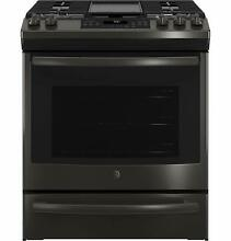 GE  JGS760BELTS 30 Inch Slide In Gas Range with Convection