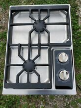 Wolf 2 Burner CT15G S 15 Inch Gas Hob Cooktop W Dual Sealed Burners True Simmer