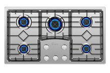 Empava 36 inch Gas Stove Cooktop 5 Italy Sabaf Burners Stainless Steel 36GC5B90S