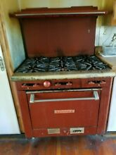 Stove restaurtant kitchen Valcan 6 burner gas range oven