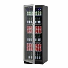 72  Large Beverage Refrigerator With Clear Glass Door