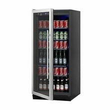 Upright Beverage Cooler Drink Center with Glass Door